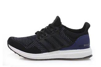 Оригинальные мужские кроссовки Adidas Ultra Boost Core Black | Адидас ультра буст черные