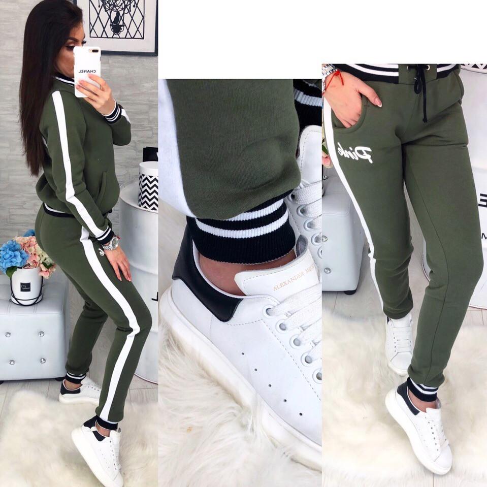ff3f28a7773df0 Женский спортивный костюм с начёсом, Фабричный Китай - Интернет-магазин  одежды