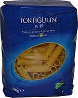 Макароны твердых сортов трубочки LD «Tortiglioni» n.49, 500 гр.