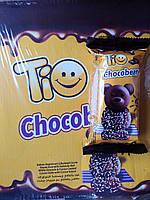 Бисквитный шоколадный кекс Мишка Tио Tio Chocobear 24 шт Турция