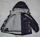 Куртка зимняя Lucky для девочки фиолетовая (Quadrifoglio, Польша), фото 5