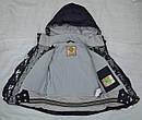 Куртка зимняя Lucky для девочки фиолетовая (Quadrifoglio, Польша), фото 4
