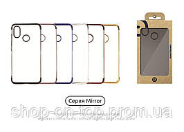 Чехол Honor 10 Mirror TPU - Black