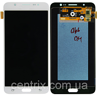 Дисплей (экран) для Samsung J710H Galaxy J7 (2016) + тачскрин, белый, оригинал