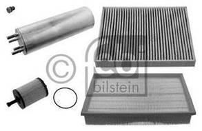 Комплект фильтров VW T5 1.9TDI 03- (воздушный/масляный/топливный/салона угол.)