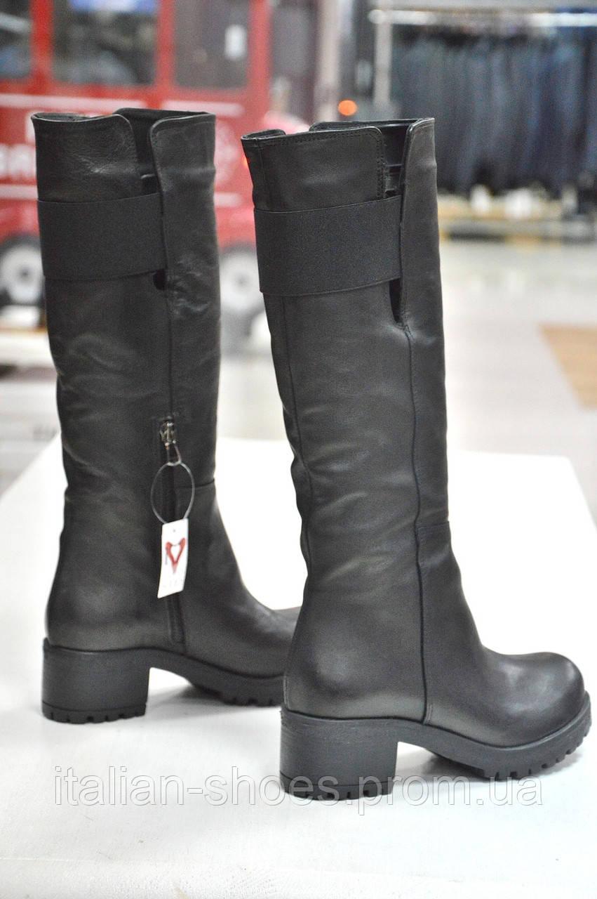 Зимние черные сапоги Notaro -766