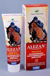Гель Алезан (Alezan) 2 в 1 охлаждающе-разогревающий, 100 мл