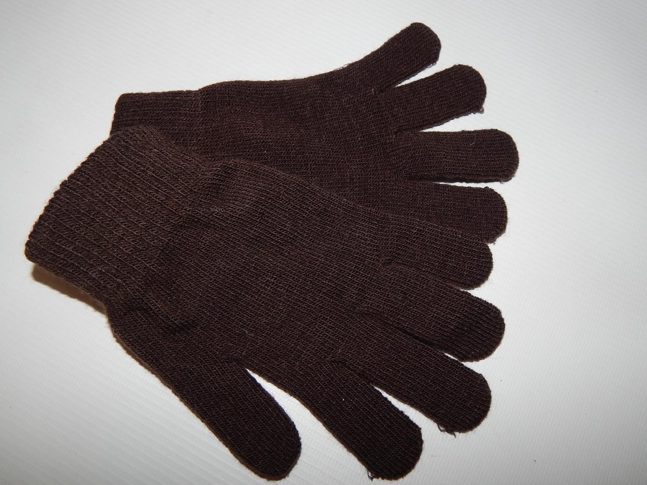 Перчатки подросток трикотажные р.L (6) 015DDP