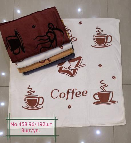 Полотенце банное микрофибра COFFEE. Размер 70 см на 140 см