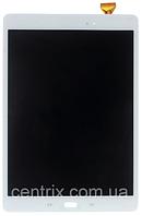 Дисплей (экран) для Samsung T555 Galaxy Tab A 9.7 LTE + тачскрин, белый, фото 1