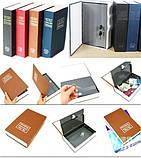 Книга-сейф Словник ,18х11,5х5,5 см середня(синій), фото 4