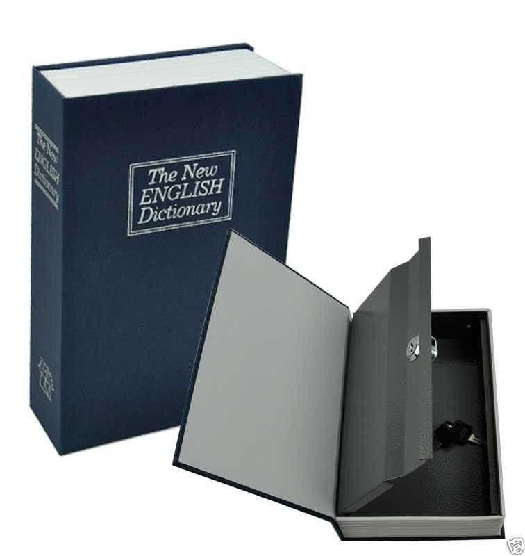 Книга-сейф Словник ,18х11,5х5,5 см середня(синій)