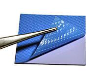 Термопрокладка 3KS 3K600 B24 1.0мм 50x50 синяя 6 Вт/м*К термоинтерфейс для ноутбука (TPr-3K6W-B24), фото 1