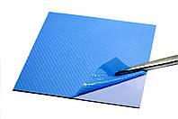 Термопрокладка 3K600 B30 1.5мм 100x100 синяя 6 Вт/(м*К) термоинтерфейс для ноутбука видеокарты, фото 1
