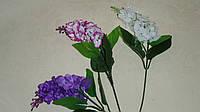 Ветка сирени с розовыми цветочками, фото 1