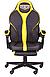Геймерское кресло VR Racer Edge Throne черный/желтый, фото 2