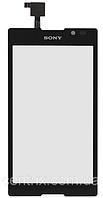 Тачскрин (сенсор) для Sony C1503 Xperia E, C1504, C1505, C1604, C1605, черный