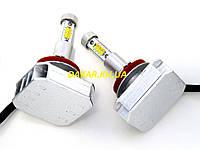 Светодиодные двухрежимные автомобильные лампы H11 35W F22, фото 1