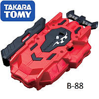 Двухсторонний ЗАПУСК BEYBLADE BURST B-88 Bay Launcher LR Red Takara Tomy Оригинал
