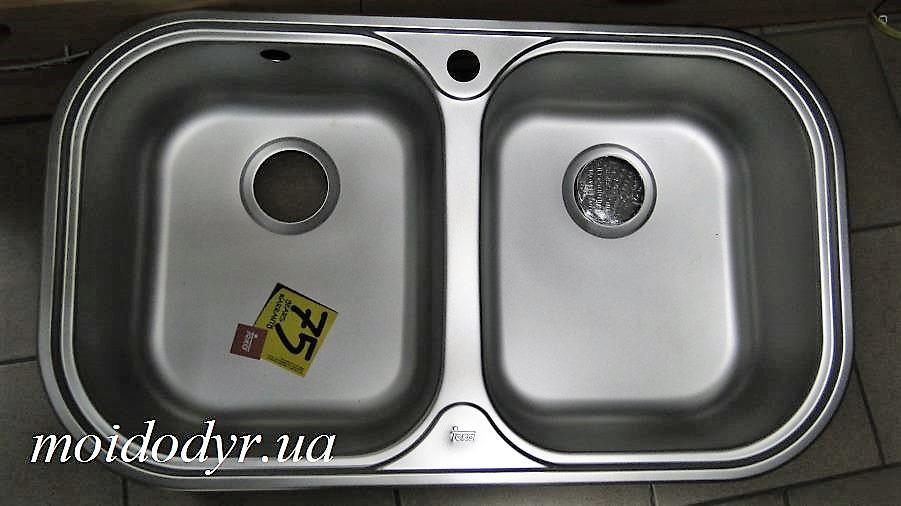 Мойка кухонная Teka Stylo 2B врезная из нержавеющей стали