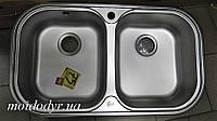 Мойка кухонная Teka Stylo 2B врезная из нержавеющей стали, фото 1