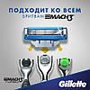 Gillette Mach3 Turbo 4 шт. в упаковке сменные кассеты для бритья, новый тип, оригинал, фото 7
