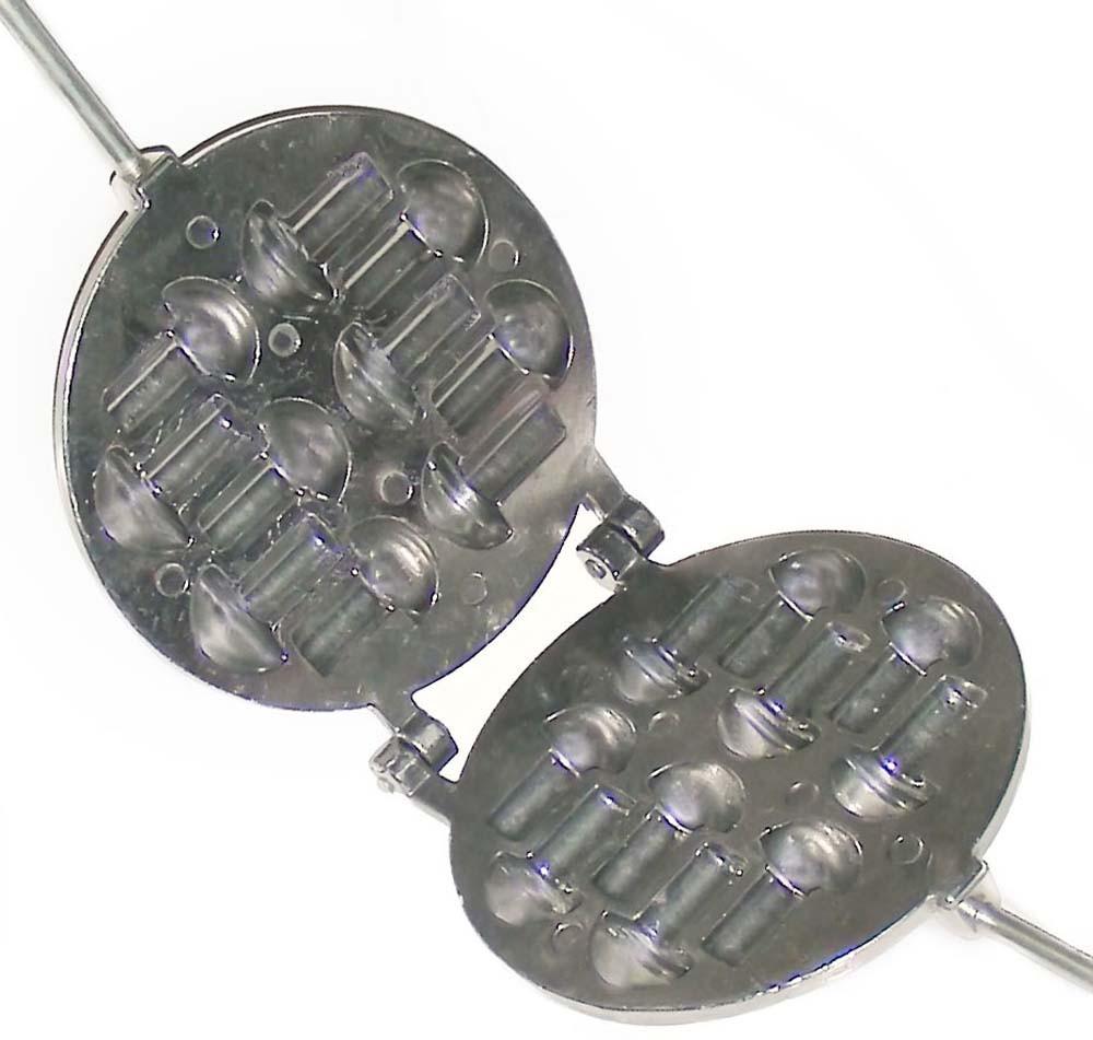 Грибочница - Гвоздики 10 грибочков (блестящая, сьемные ручки)