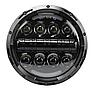Фара світлодіодна LED 7 дюймів, кругла, 1 шт, 75 Вт (УАЗ,ГАЗ,Камаз,Jeep Nissan,FJ Cruiser,Harley Davidson)