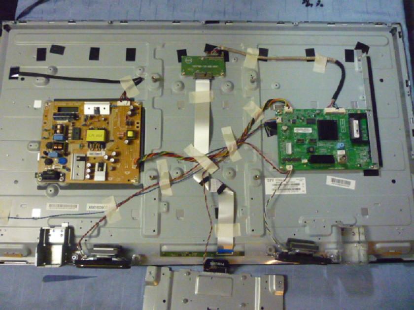 Платы от LED TV Philips 40PFH4101/88 поблочно, в комплекте (нерабочая матрица).
