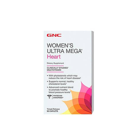 GNC Women's Ultra Mega Heart 90 таб