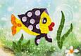 Объемный квиллинг «Рыбка в платочке», фото 2