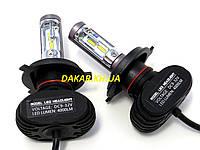 Светодиодные автомобильные лампы H4 S16, фото 1