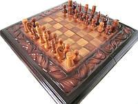 """Резные шахматы-нарды """"Орел"""""""