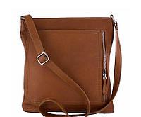 Итальянская кожаная сумка-планшет унисекс Bottega Carele