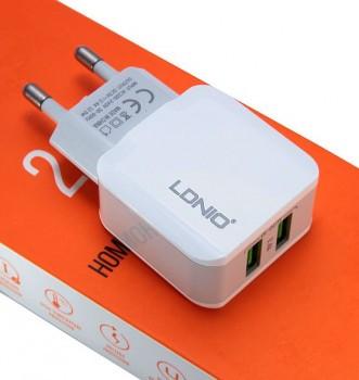 Зарядное устройство  LDNIO 2USB White A2202
