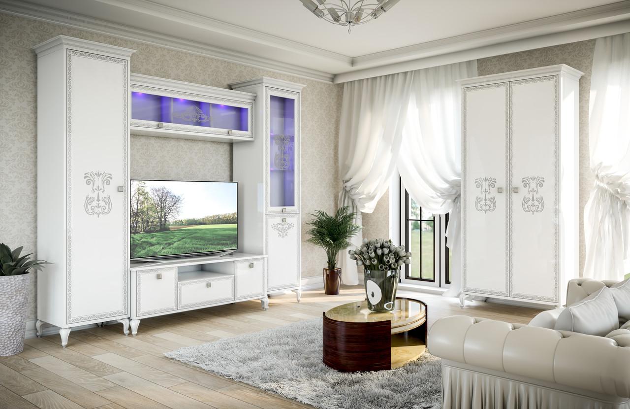 Комплект в вітальню (стенка в гостиную) Вероніка Світ Меблів