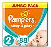 Підгузники Pampers Sleep&Play Mini 2 (3-6 кг) Jumbo Pack 88 шт
