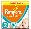 Подгузники детские Pampers Sleep&Play Mini 2 (3-6 кг) Jumbo Pack 88 шт
