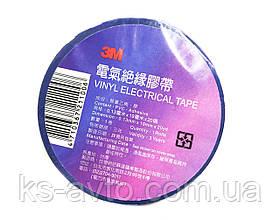 Стрічка ізоляційна чорна 3М