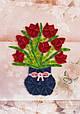 Объемный квиллинг «Ваза с цветами», фото 2