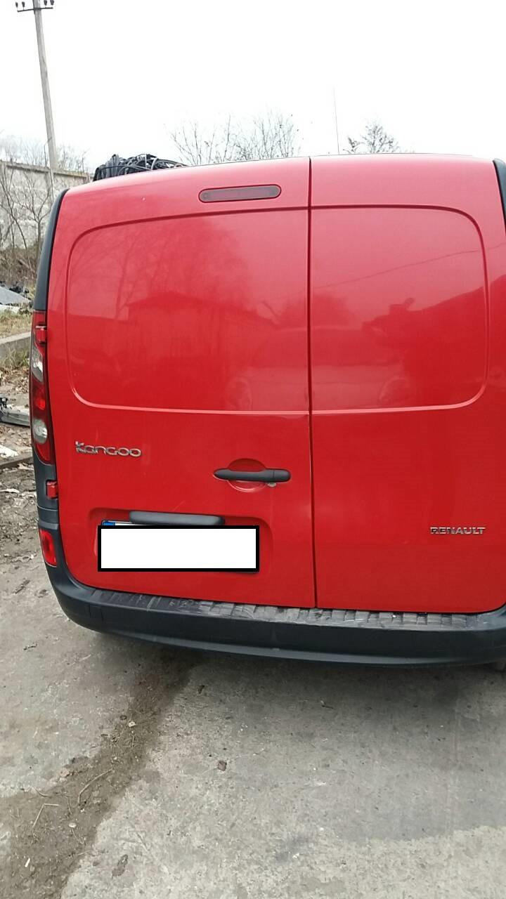 Б/у Дверь задняя распашонка Renault Kangoo 2 Рено Кенго Канго 2008-2013 г.г.