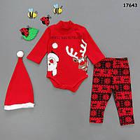 Новогодний костюм для малыша. 62, 68, 74, 80 см, фото 1