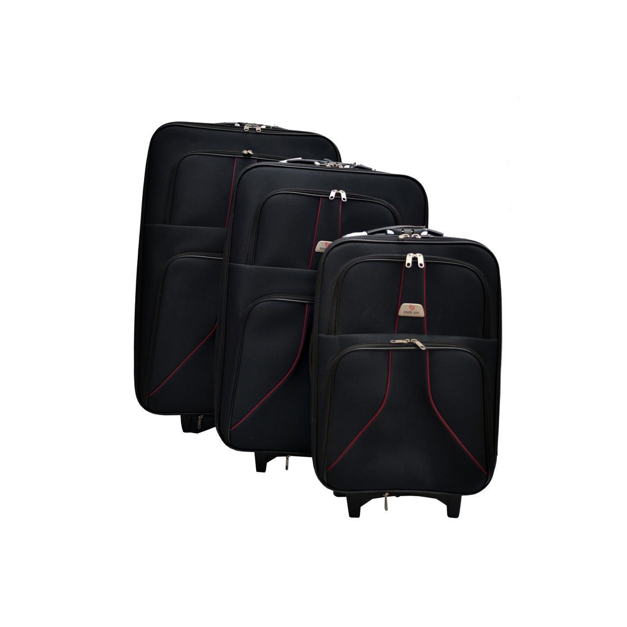 Большой дорожный чемодан на колесах размеры: 75 см х 50 см х 25+5 см