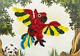 Объемный квиллинг «Попугай», фото 2