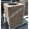 Урна для мусора «Куб» уличная бетонная, фото 5