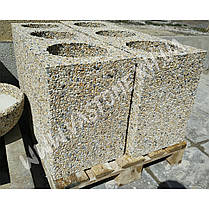 Урна для мусора «Куб» уличная бетонная, фото 3