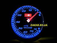 LED 7706-3 Тюнинговый автомобильный прибор Ket Gauge вакуум, фото 1
