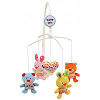 Музыкальный мобиль Baby Mix Зайчата и медвежата 437M (8239)