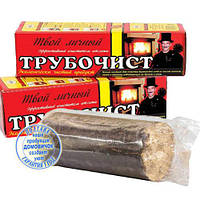 Полено трубочист - средство для чистки дымохода от сажи и копоти. Эффективно, Быстро, Удобно