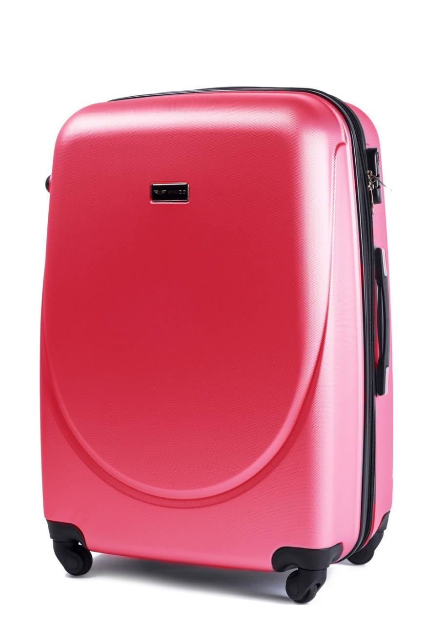 Чемодан Wings Gravitt 310  М на 4 колесах розовый